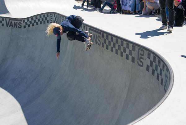 Vans Park Series at Malmo - Backside Air