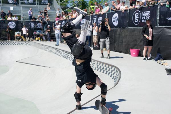 Vans Park Series at Malmo - Stunts