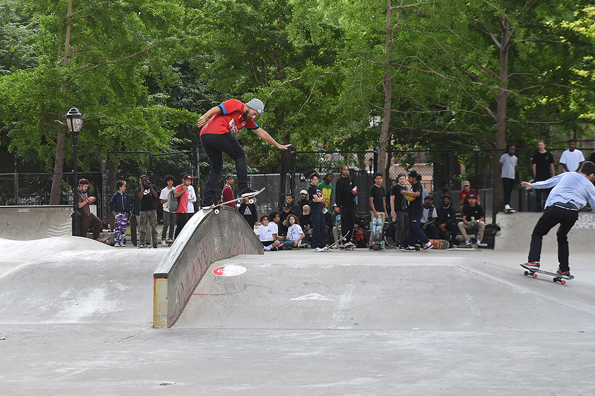 The Boardr Amateur Skateboarding at NYC - BSTS Rainbow
