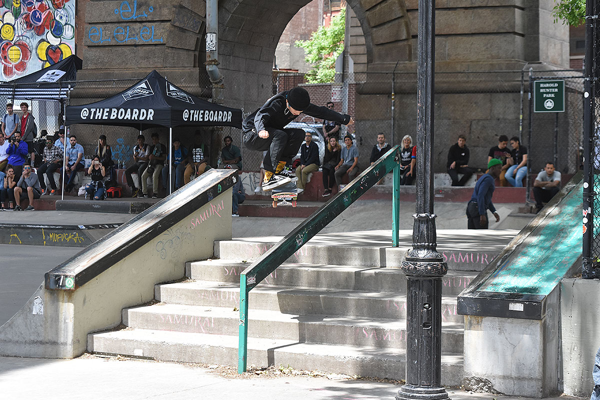 The Boardr Amateur Skateboarding at NYC - KFFSBS