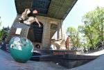 The Boardr Amateur Skateboarding at NYC - Carlo Backside Flip