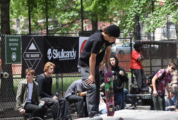 The Boardr Amateur Skateboarding at NYC - Thinking About that Run