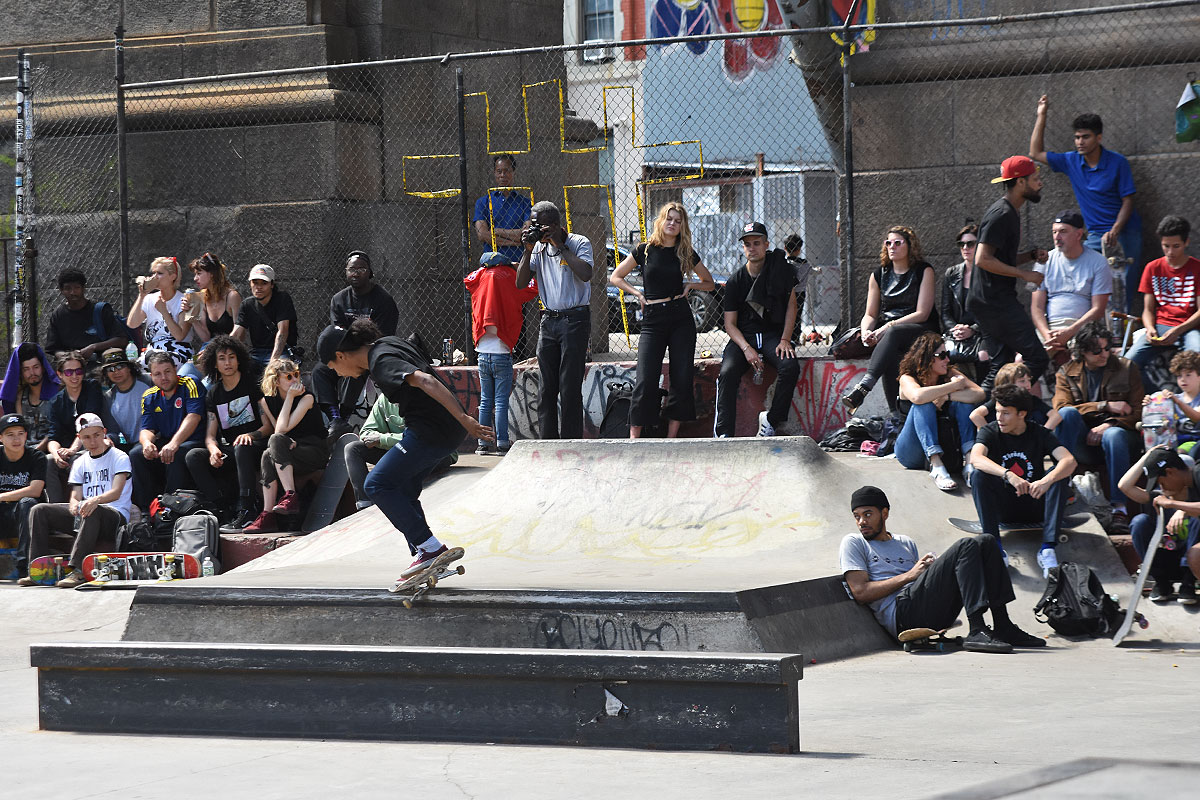 The Boardr Amateur Skateboarding at NYC - Crook Nollie Heel Out