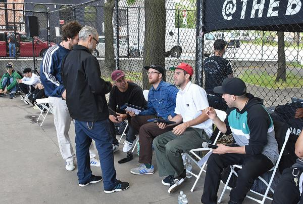 The Boardr Amateur Skateboarding at NYC - Judges and Announcers