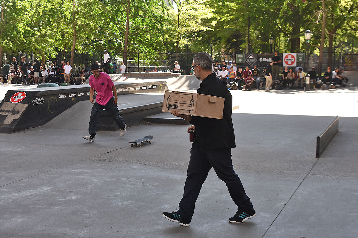 The Boardr Amateur Skateboarding at NYC - Award Delivery