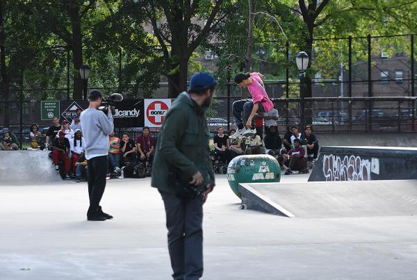 The Boardr Amateur Skateboarding at NYC - Cab
