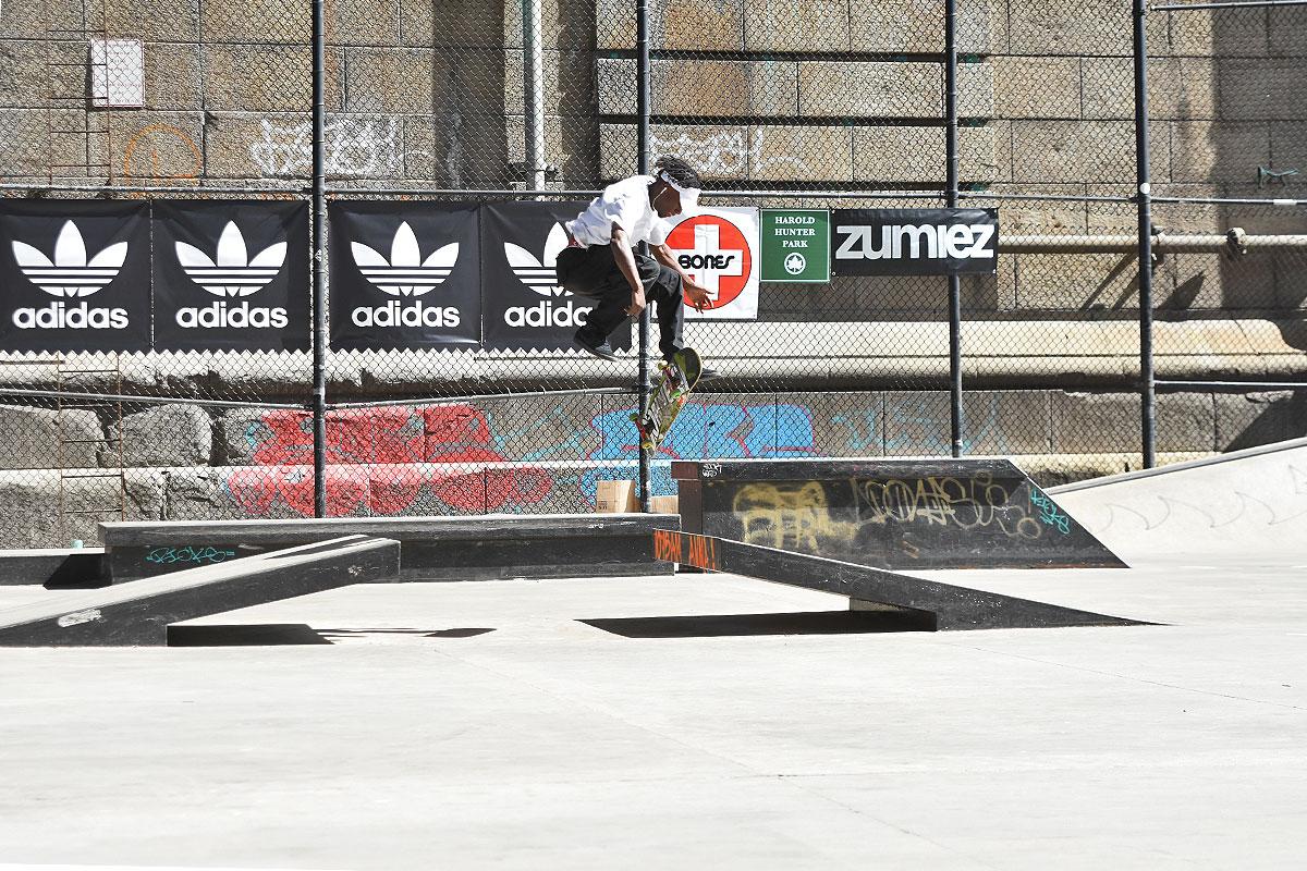 The Boardr Amateur Skateboarding at NYC - 360 Flip
