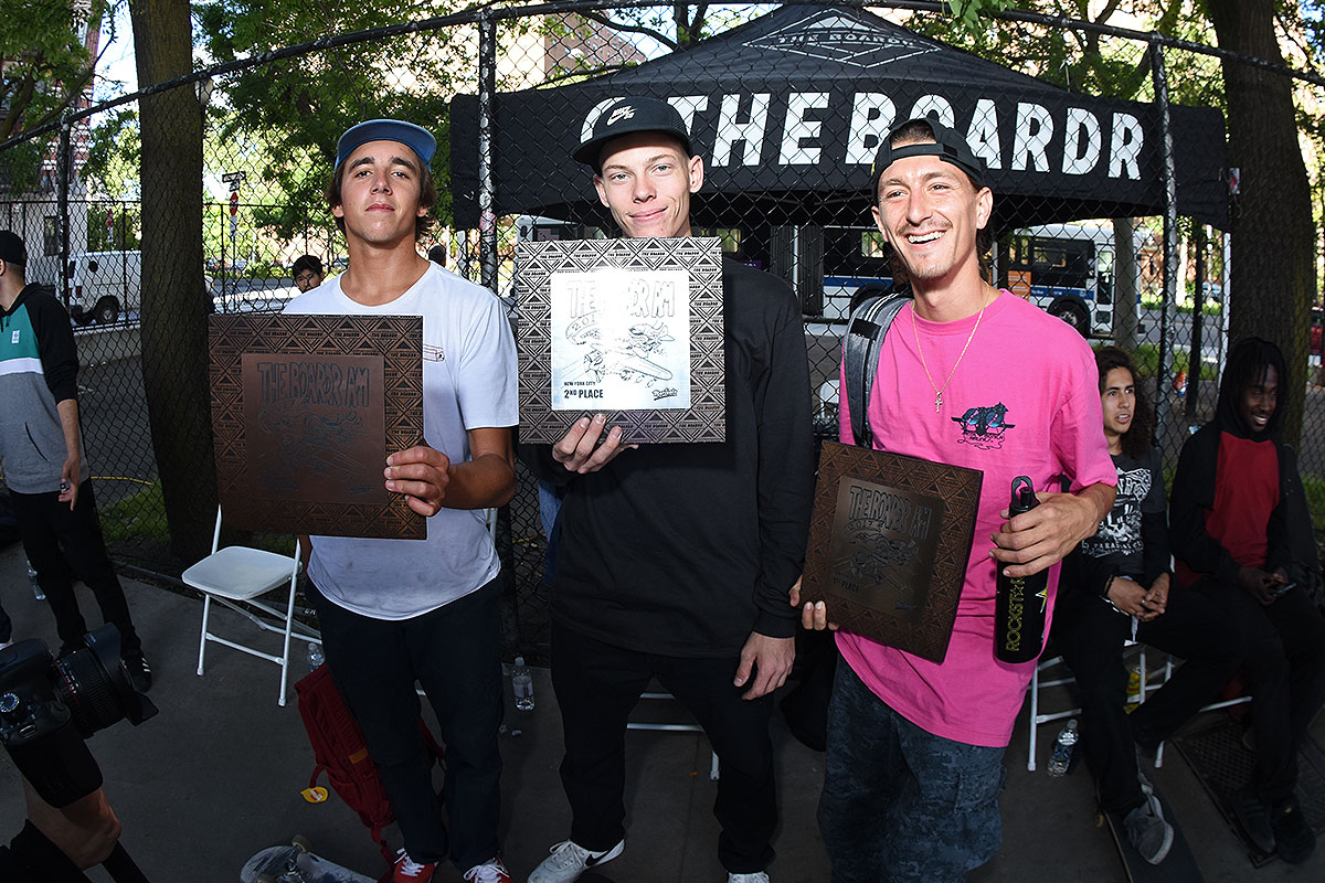 The Boardr Amateur Skateboarding at NYC - Top Three