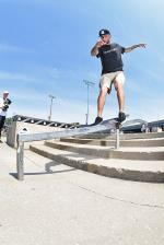 Jeff Wolcott, feeble grind.