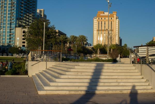 Curtis Hixon 9-Stair Set in Downtown Tampa