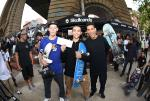 Tyler Hunger, Carlo Carezzano, and Jake Ilardi took home the top 3 spots for the adidas Best Trick.