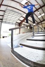 Grind for Life Series at Houston - Boardslide