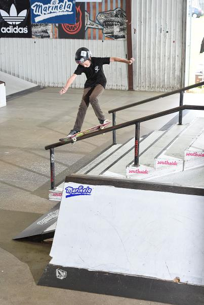 Grind for Life Series at Houston - Front Feeble