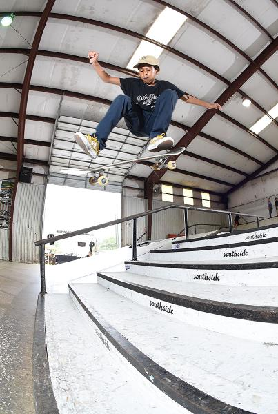 Grind for Life Series at Houston - Kickflip
