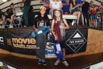 Kendra Long and Raina Saenz took home the top 3 spots for Street Girls.
