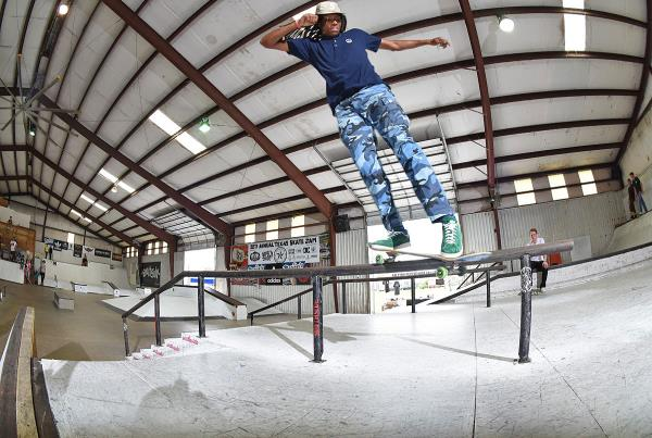 Grind for Life Series at Houston - Back Smith