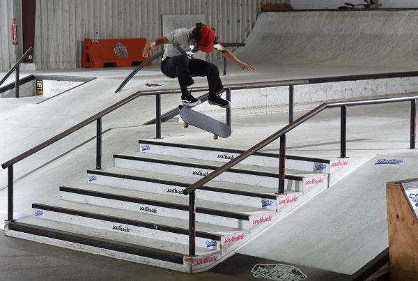 Grind for Life Series at Houston - Nollie Flip