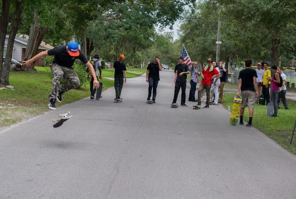 SHMF Go Skateboarding Day - Dylan 360 Flip