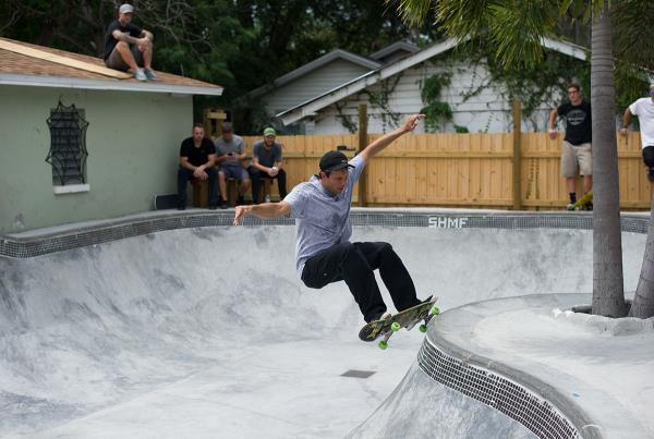 SHMF Go Skateboarding Day - Frontside Grind