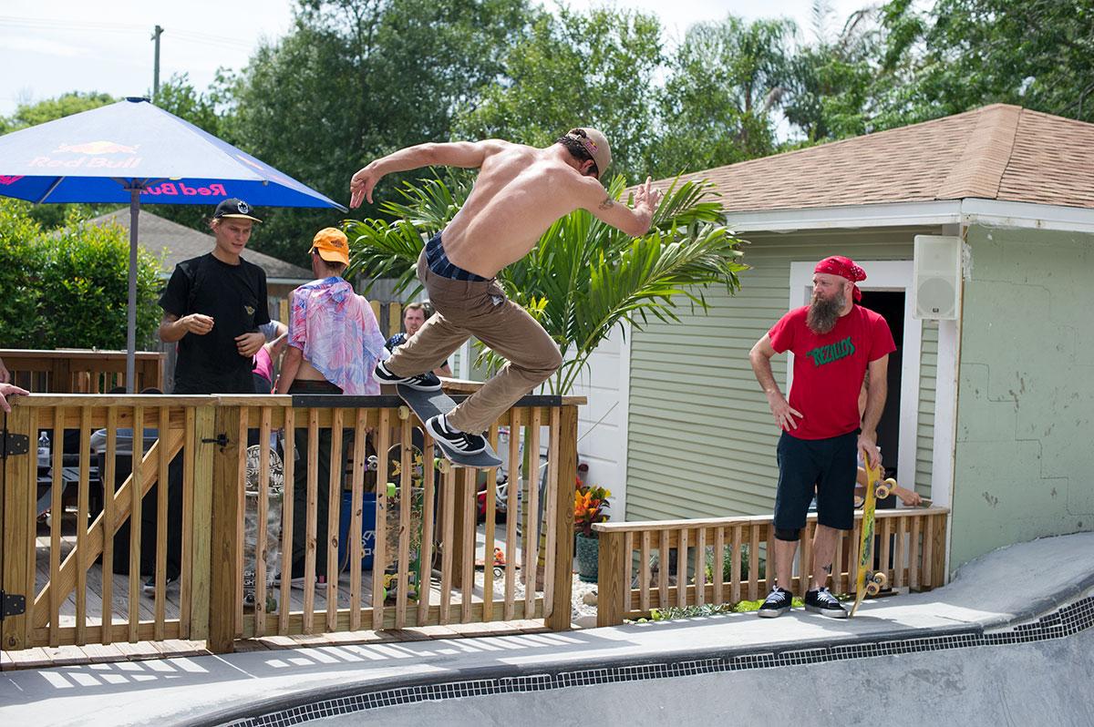 SHMF Go Skateboarding Day - Alex Tail Stall