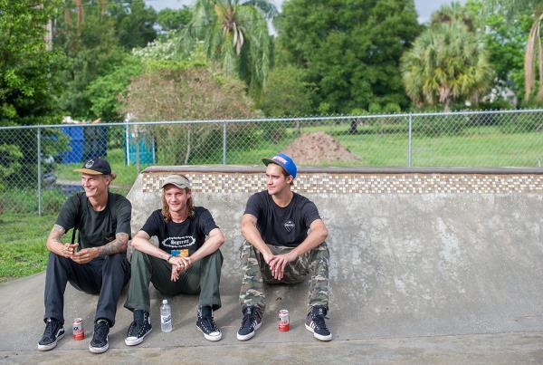 SHMF Go Skateboarding Day - Eric, Jack, Dylan