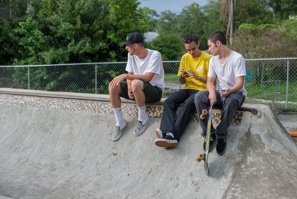SHMF Go Skateboarding Day - Brandon, Alejandro, Giancarlo
