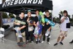 Jake Yanko, Joey Boulanger, and Francisco Penunuri, took home the top 3 spots for Bowl Sponsored.