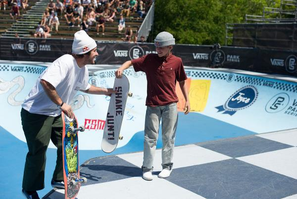 Vans Park Series Vancouver - CJ and Pedro