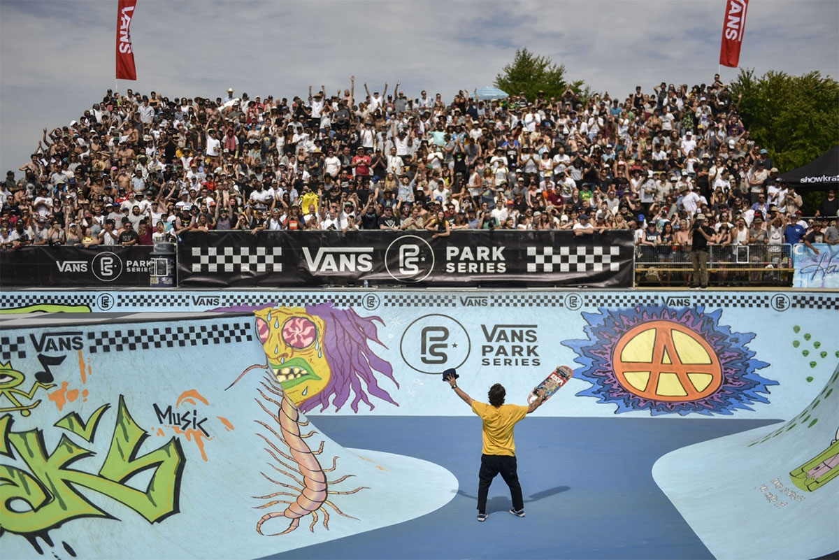 Vans Park Series, the path to Olympic Park skateboarding.