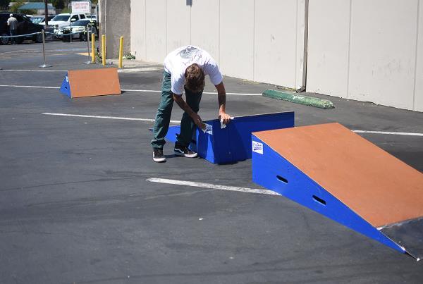 Marinela Skateboarding Demos - Setup