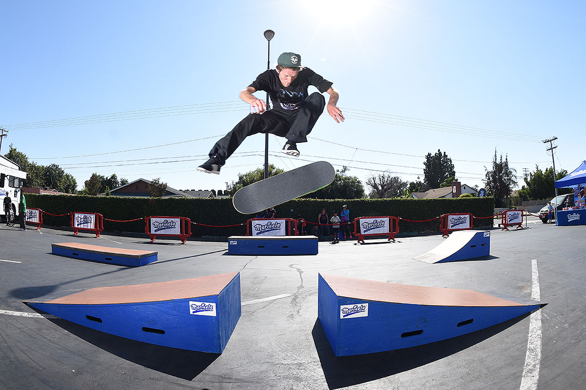 Marinela Skateboarding Demos - John Nollie Flip