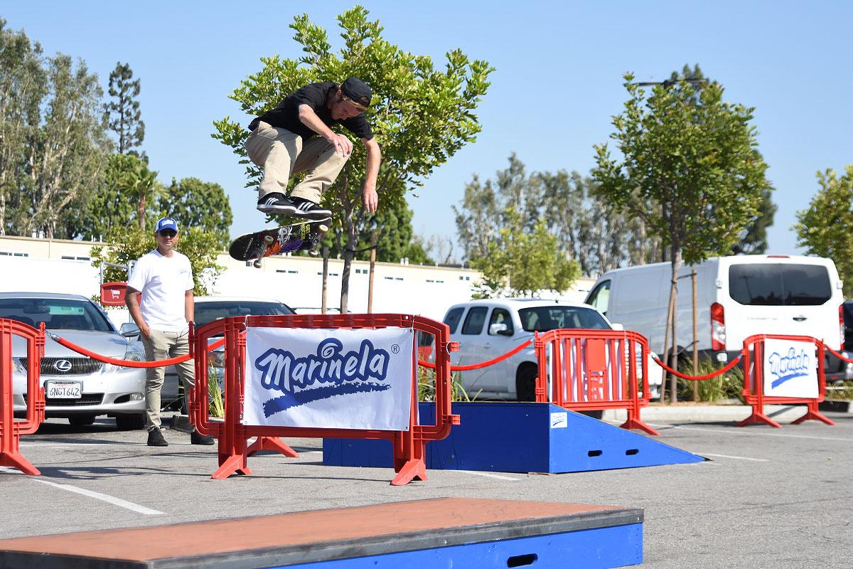 Marinela Skateboarding Demos - Switch Heel
