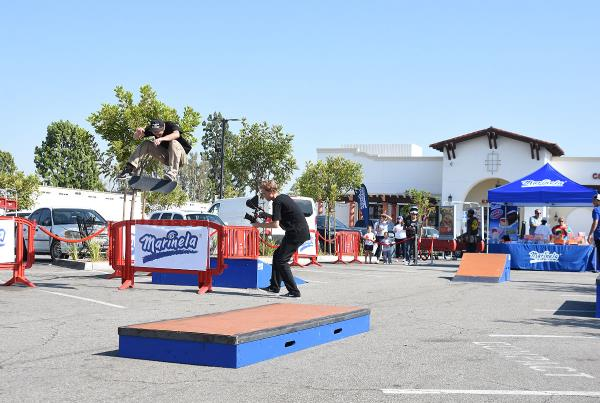 Marinela Skateboarding Demos - Switch FS Flip