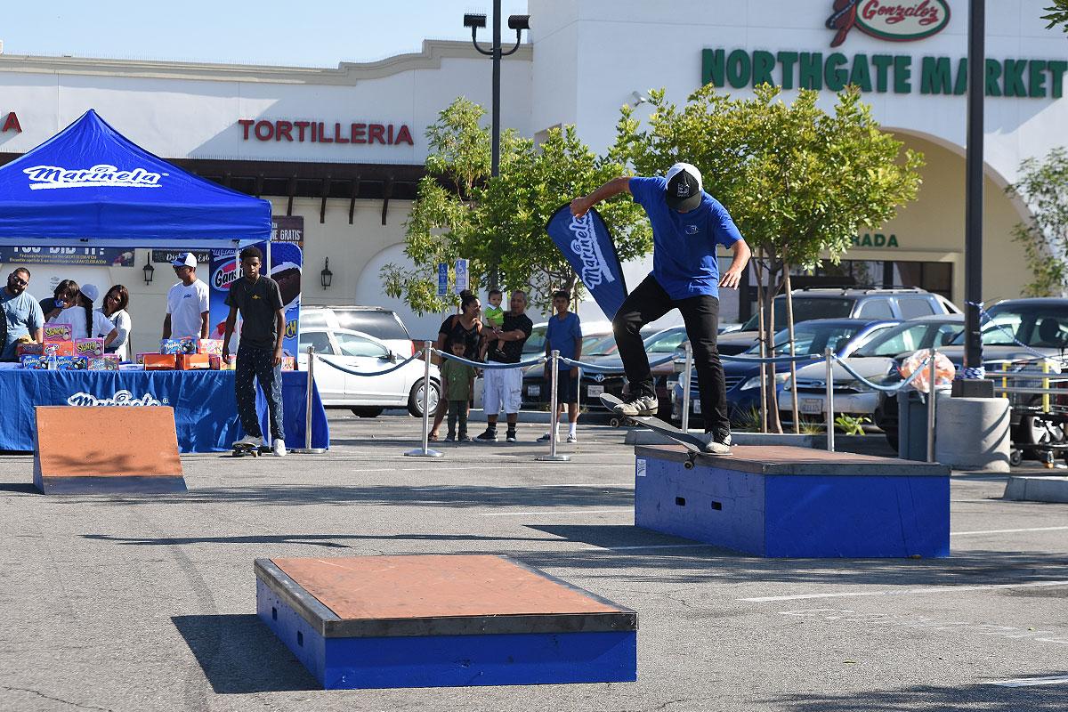 Marinela Skateboarding Demos - Crook