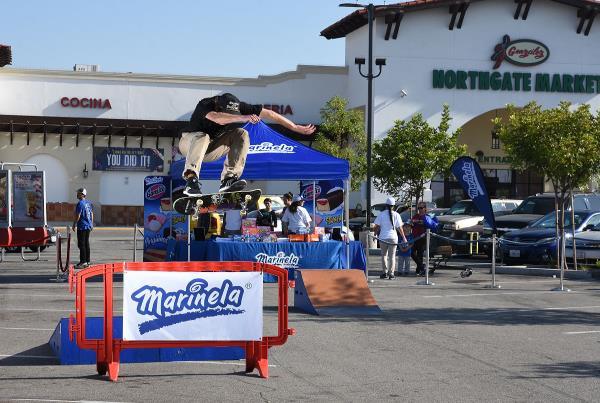 Marinela Skateboarding Demos - SW FS Heel