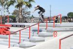 We saw Myles ripping at the past Grind for Life in Huntington Beach. He held his own with the big dogs today.