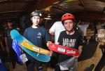 Austin Cowdrey and Gage Seymour took home the top spots in Bowl Intermediate.