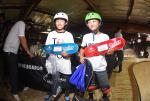 Karen Muto and Asahi Kaihara took home the top spots in the Bowl Girls division.