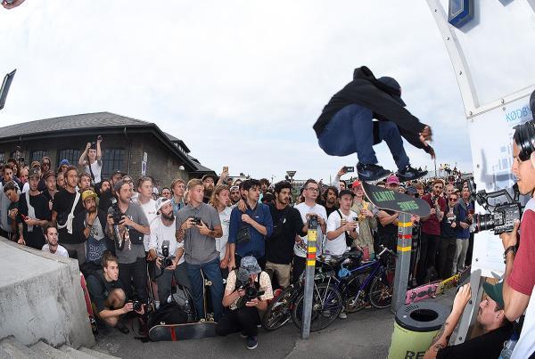 Copenhagen Open 2017 - Pit Stop Kickflip