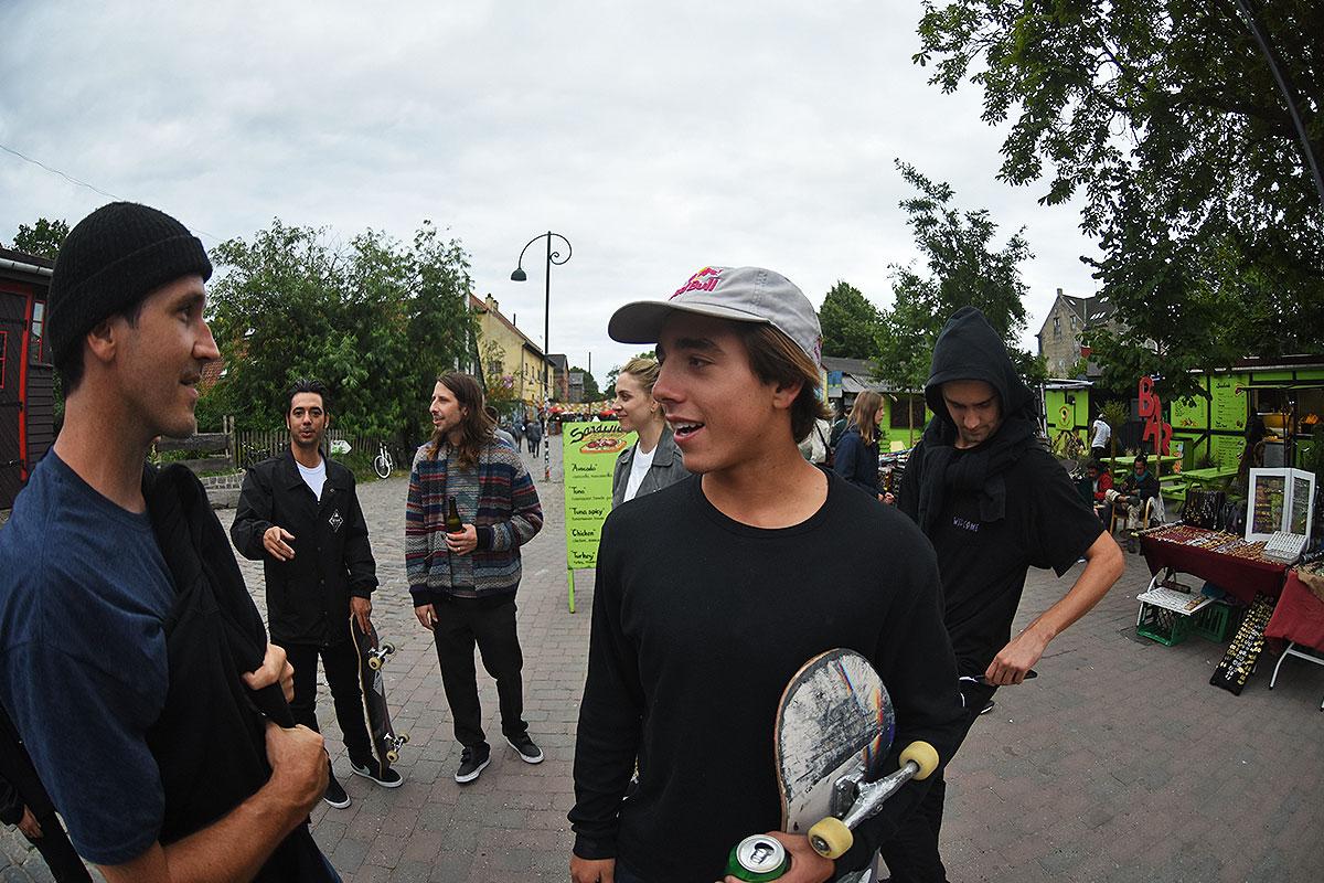 Copenhagen 2017 Extras - Alex on Scene