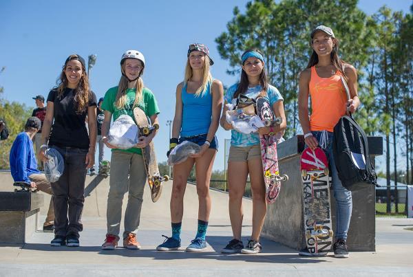 Female Skateboarders Rule