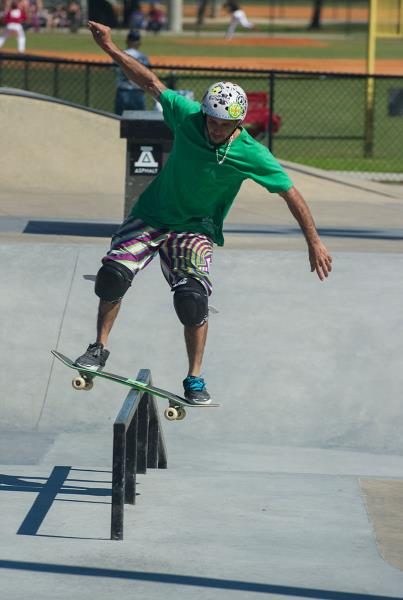 Omar Delgado Boardslide