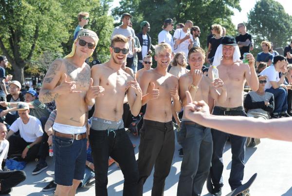 Hot and Shirtless in Copenhagen