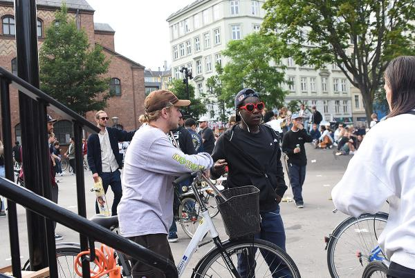 Copenhagen 2017 Extras - Jaime and Zion