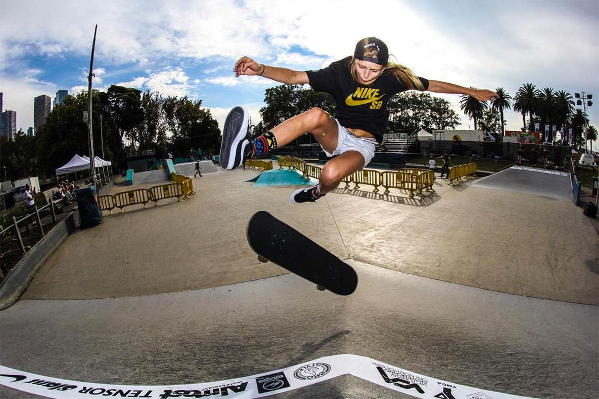 Haley Shot by Mark Woolley
