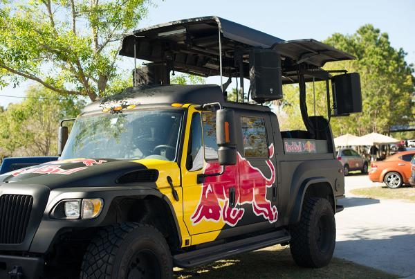 Brandon Starr Red Bull Photo