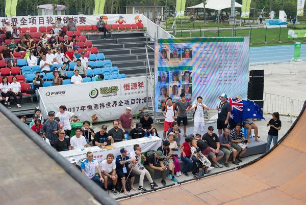 Vert World Championships - Scene