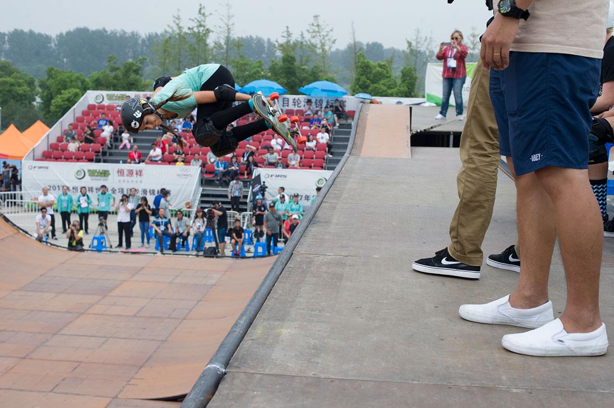 Vert World Championships - Backside Air