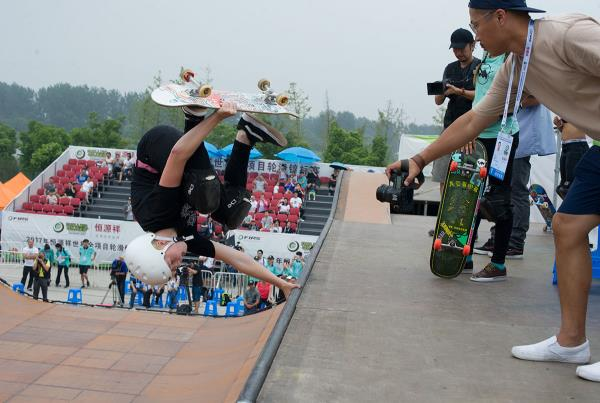 Vert World Championships - One Foot Invert