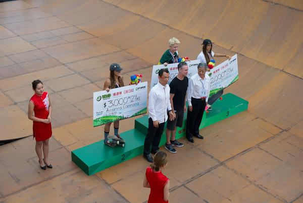 Vert World Championships - Top Podium